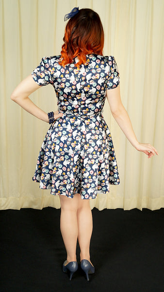 Cats at Tea Time Dress - Cats Like Us