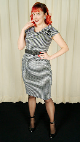 Chloe Gingham Wiggle Dress