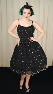 Dotty Scallop Dress