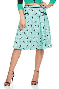 Emma Retro Kitty Skirt - Cats Like Us