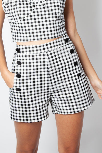 Gingham Mila Sailor Shorts