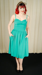 Good Graces Turquoise Dress by VooDoo Vixen : Cats Like Us