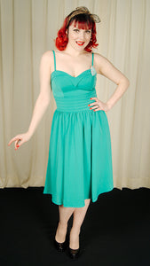 Good Graces Turquoise Dress