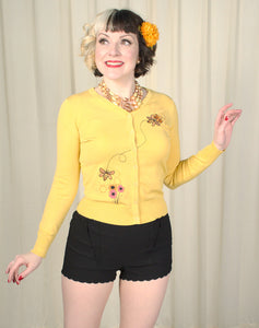Harriet Honey Bee Cardigan