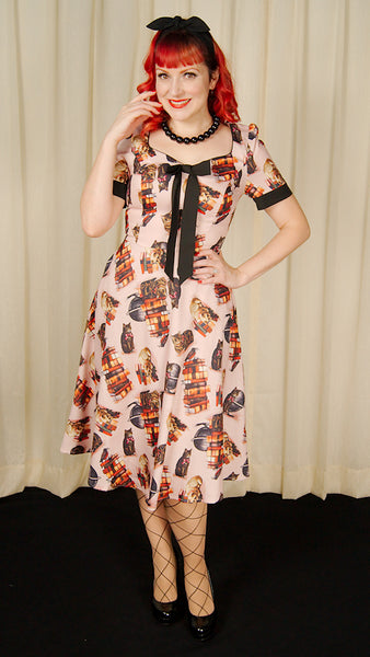 Library Cats Tea Dress by VooDoo Vixen : Cats Like Us
