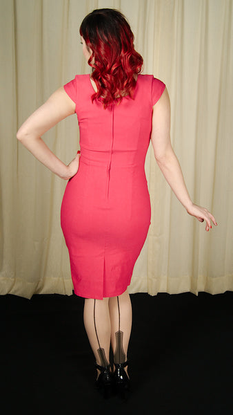 Lillian Pink Pencil Dress by VooDoo Vixen : Cats Like Us