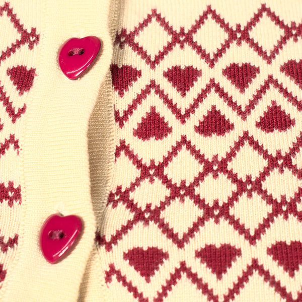 Louisa Heart Cardigan