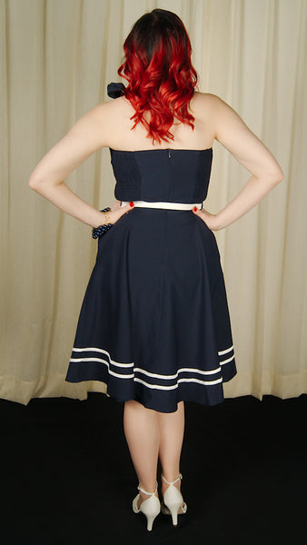 Nautical Charlotte Swing Dress by VooDoo Vixen : Cats Like Us