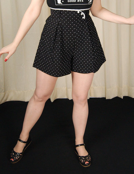 Polka Dot Swing Shorts