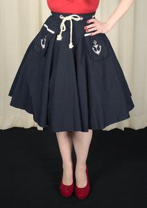 Florence Anchor Swing Skirt
