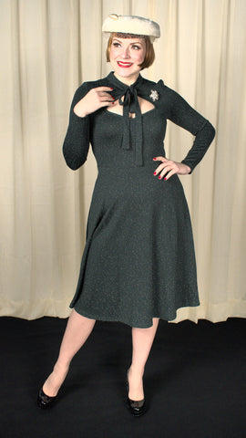Starlynn Snow Dot Swing Dress