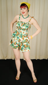 Tropical Tiki Romper Playsuit by VooDoo Vixen : Cats Like Us