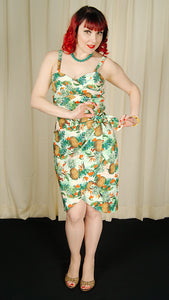 Tropical Tiki Wiggle Dress