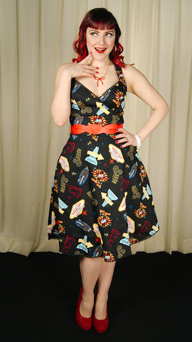 Viva Las Vegas Lucy Dress - Cats Like Us