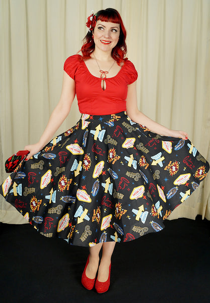 Viva Las Vegas Pippa Skirt - Cats Like Us