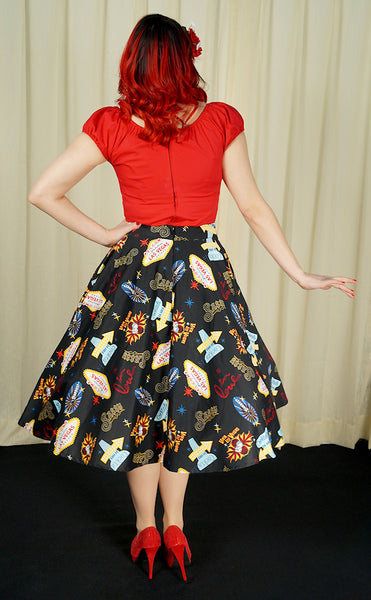 Viva Las Vegas Pippa Skirt by VooDoo Vixen : Cats Like Us