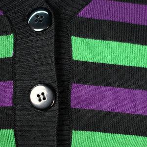 Witching Hour Striped Cardigan