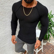Mens Autumn Winter Casual Knitted Sweaters