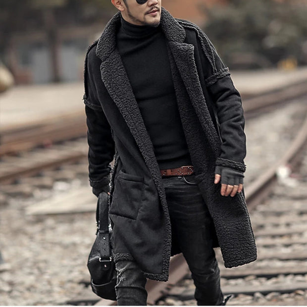 Casual Long Thick Sweater Coat