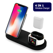 4 in 1 Wireless Charger for iPhone, AirPods and Apple Watch