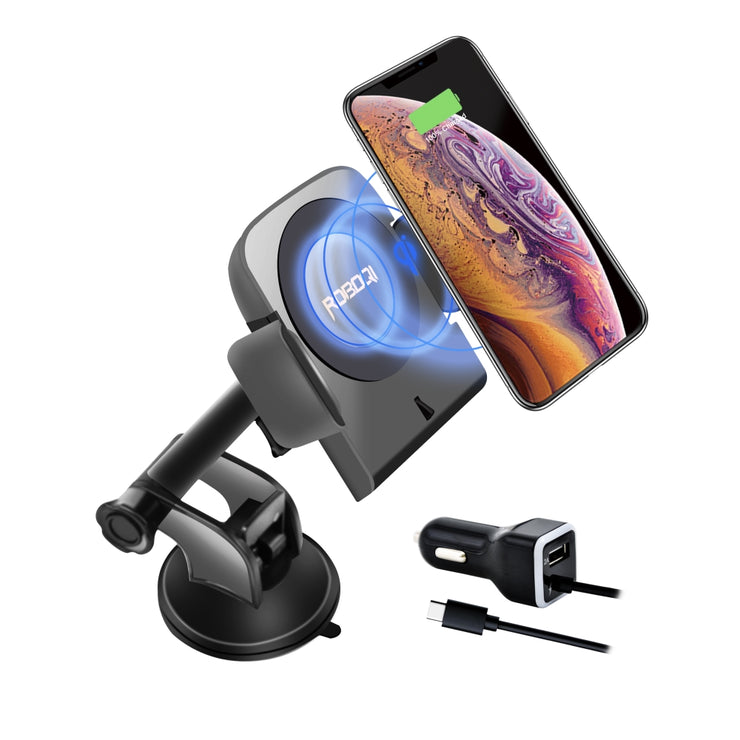 ROBOQI® 1  Automatic 10W Qi Wireless Car Charger Mount