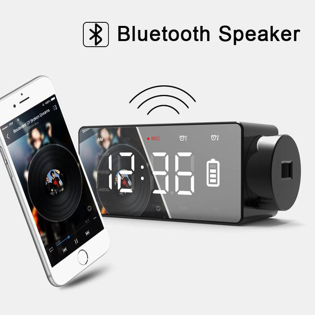 ROBOQI® Wireless Charging Speaker with Projector - InvisibleTech
