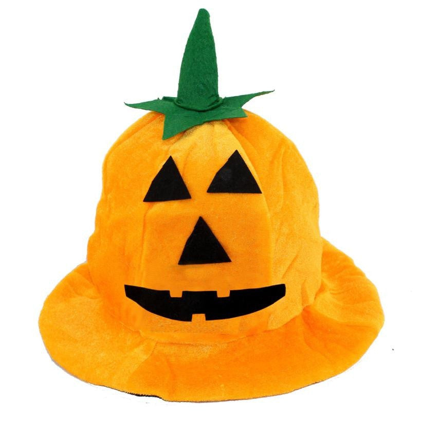 Pumpkin Halloween Party Hat