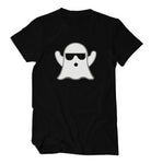 Black Ghost Glow In Dark Shirt
