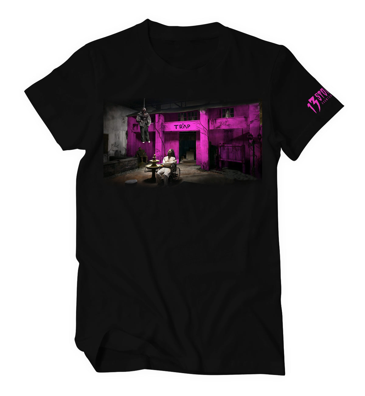 Haunted Pink Trap House Shirt