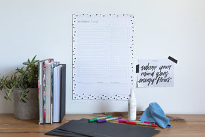 To Do List/ Chore Chart - Family Bundle