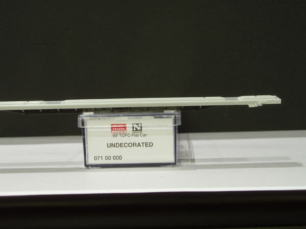 MTL-71000 - 89' TOFC Flat Car - Undecorated