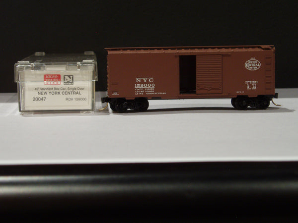 MTL-20047 - 40' Standard Box Car, Single Door - New York Central