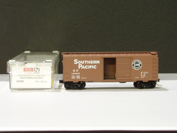 MTL-20080 - 40' Standard Box Car, Single Door - Southern Pacific #105045