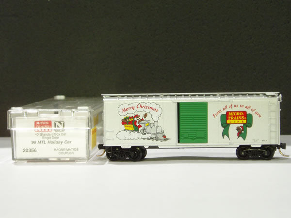 MTL-20356 - 40' Standard Box Car, Single Door - '96 MTL Holiday Car