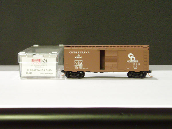 MTL-20440 - 40' Standard Box Car, Single Door - Chesapeake & Ohio