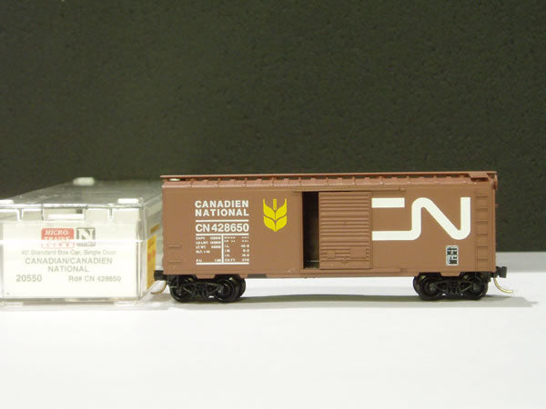 MTL-20550 - 40' Standard Box Car, Single Door - Canadian National #428650
