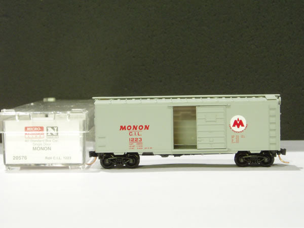 MTL-20576 - 40' Standard Box Car, Single Door - Monon #1223