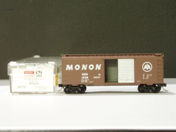 MTL-20770 - 40' Standard Box Car, Single Door - Monon #1238