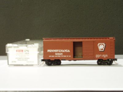 MTL-20780 - 40' Standard Box Car, Single Door - PRR #603125