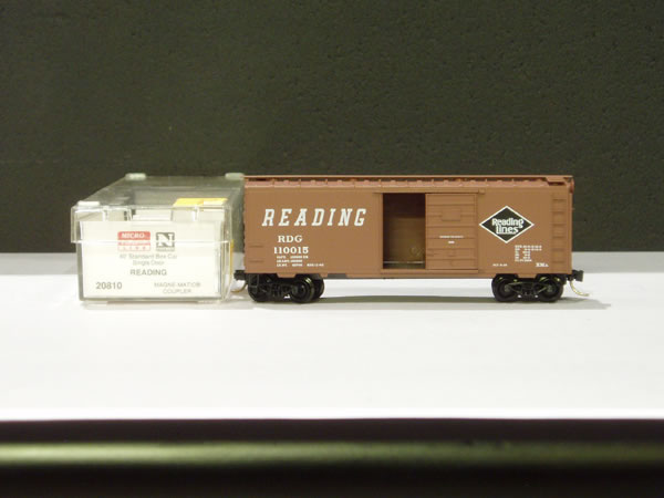 MTL-20810 - 40' Standard Box Car, Single Door - Reading #110015