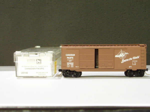 MTL-23140 - 40' Standard Box Car, Double Doors - Canadian Pacific #290262