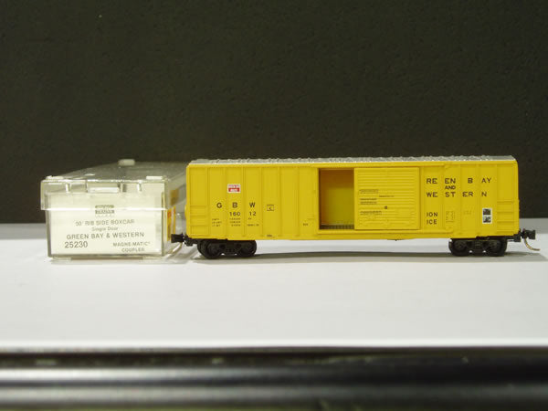 MTL-25230 - 50' Rib Side Box Car, Single Door, w/o Roofwalk - GBW # 16012