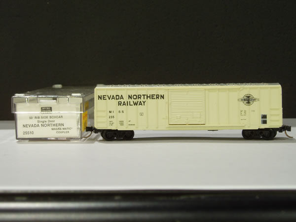 MTL-25510 - 50' Rib Side Box Car, Single Door, w/o Roofwalk - NNR #235