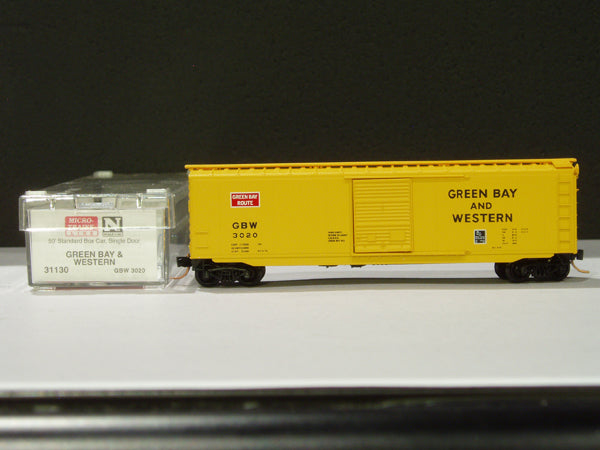 MTL-31130 - 50' Standard Box Car, Single Door - GB&W #3020