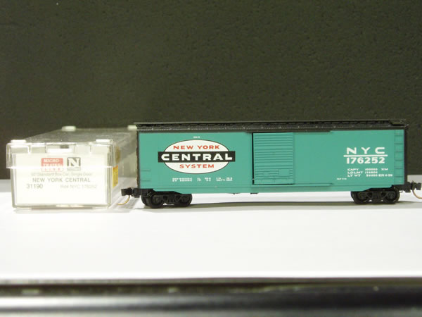 MTL-31190 - 50' Standard Box Car, Single Door - NYC #176252