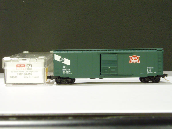 MTL-31300 - 50' Standard Box Car, Single Door - RI #110012