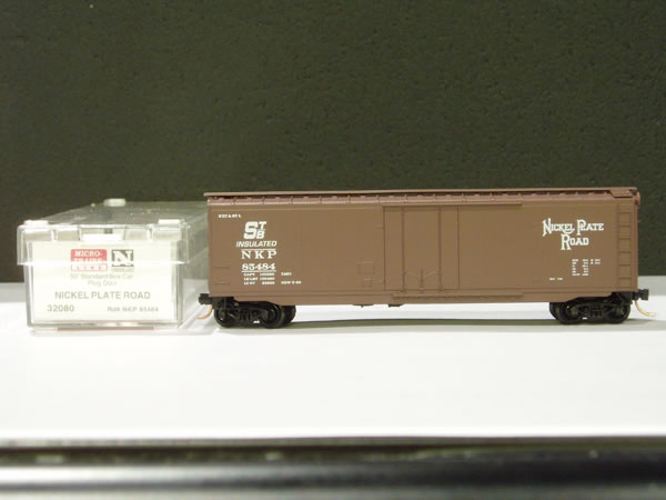 MTL-32080 - 50' Standard Box Car, Plug Door - NKP #85484