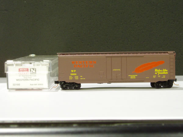 MTL-32180 - 50' Standard Box Car, Plug Door - WP #55935