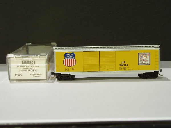 MTL-34090 - 50' Standard Box Car, Double Doors - Union Pacific