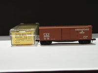 MTL-42121 - 40' Double-Sheathed Wood Box Car, Single Door - C & O
